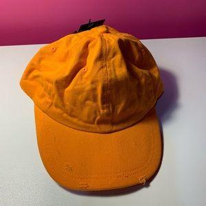 Orange Baseball Hat